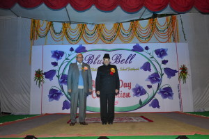 Our Chief Guest Prof. S.N.Dwivedi with Dr. P.K.Dube