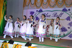 "Dance by the girls of class IX & X on the theme ""Save the girl child""..(O..re Chirraiya..)"