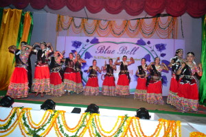 "A Rajasthani dance on the song "" Gori Nache re.."""